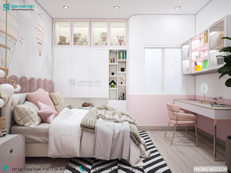 phòng ngủ nhà anh lâm