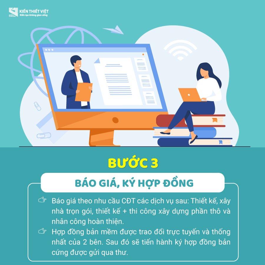tư vấn trực tuyến bước 3