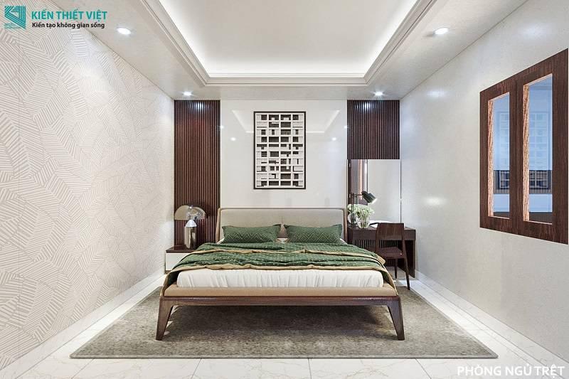 phòng ngủ tầng trệt nhà anh quang