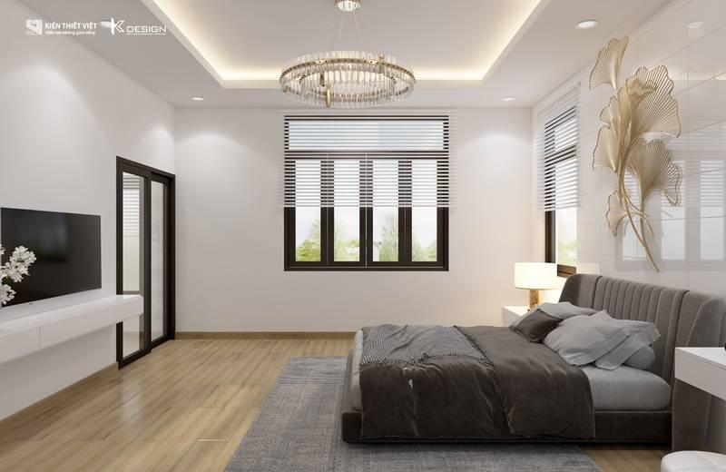 thiết kế phòng ngủ nhà chị hiền củ chi