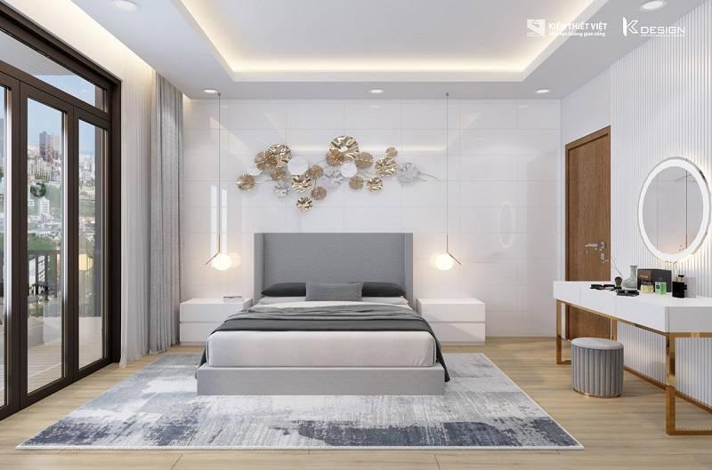 thiết kế phòng ngủ số 3 nhà chị hiền củ chi