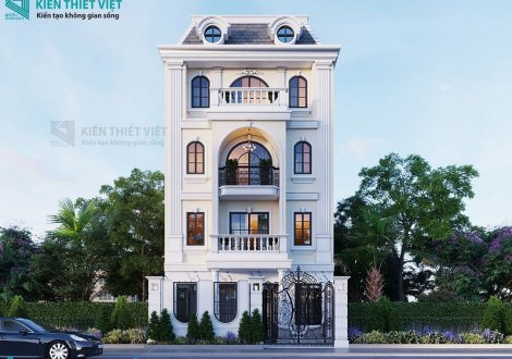 thiết kế biệt thự tân cổ điển